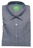 Forsyth of Canada Classic Fit Non-Iron Long Sleeve Multi Stripe Sport Shirt 8391-AGN