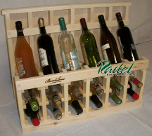 750ml 18-Bottle Display (Oak or Alder)