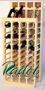 48-Bottle Display (Pine) (RWP017)
