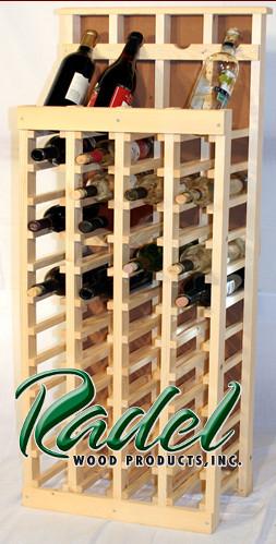 48-Bottle Display (Oak or Alder)