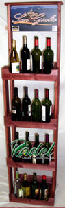 All-Purpose 4-Shelf Display (Stained)