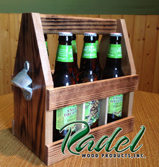 6-Pack Beer Carrier with Bottle Opener (RWP295)
