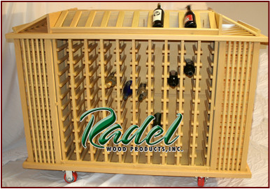 384-Bottle Portable Display