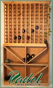 230-Bottle Wall Unit
