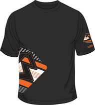 13 B-BOX Black/Orange/White T-shirt SKU # 0134-0172
