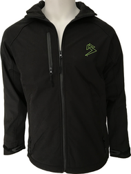 BRAAP JACKET - BLACK w/LIME GREEN B