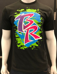 KAWA B.R. BLACK - LIME/BLUE/PURPLE/FUCHSIA