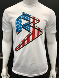 FREEDOM B - WHITE - RED/WHITE/BLUE