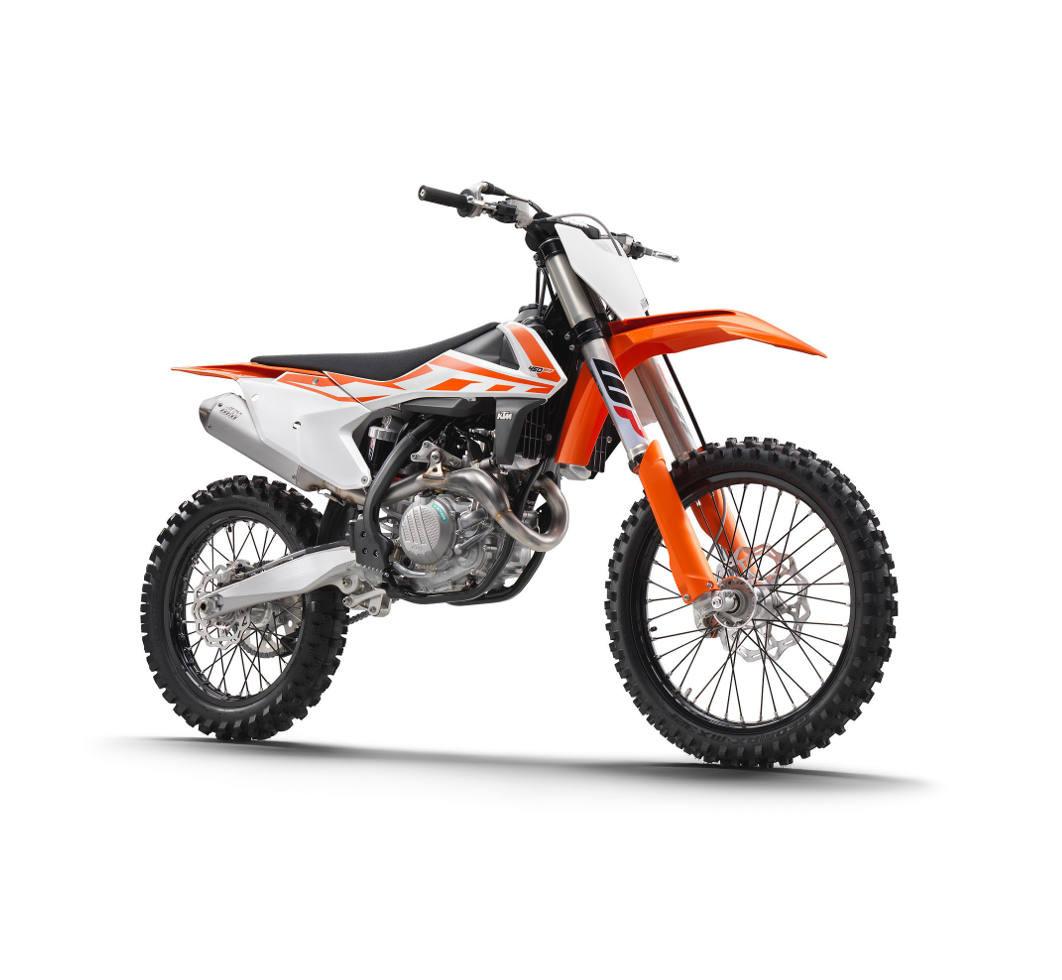 1:10 Scale KTM 450 SX-F 2018 Dirt Bike