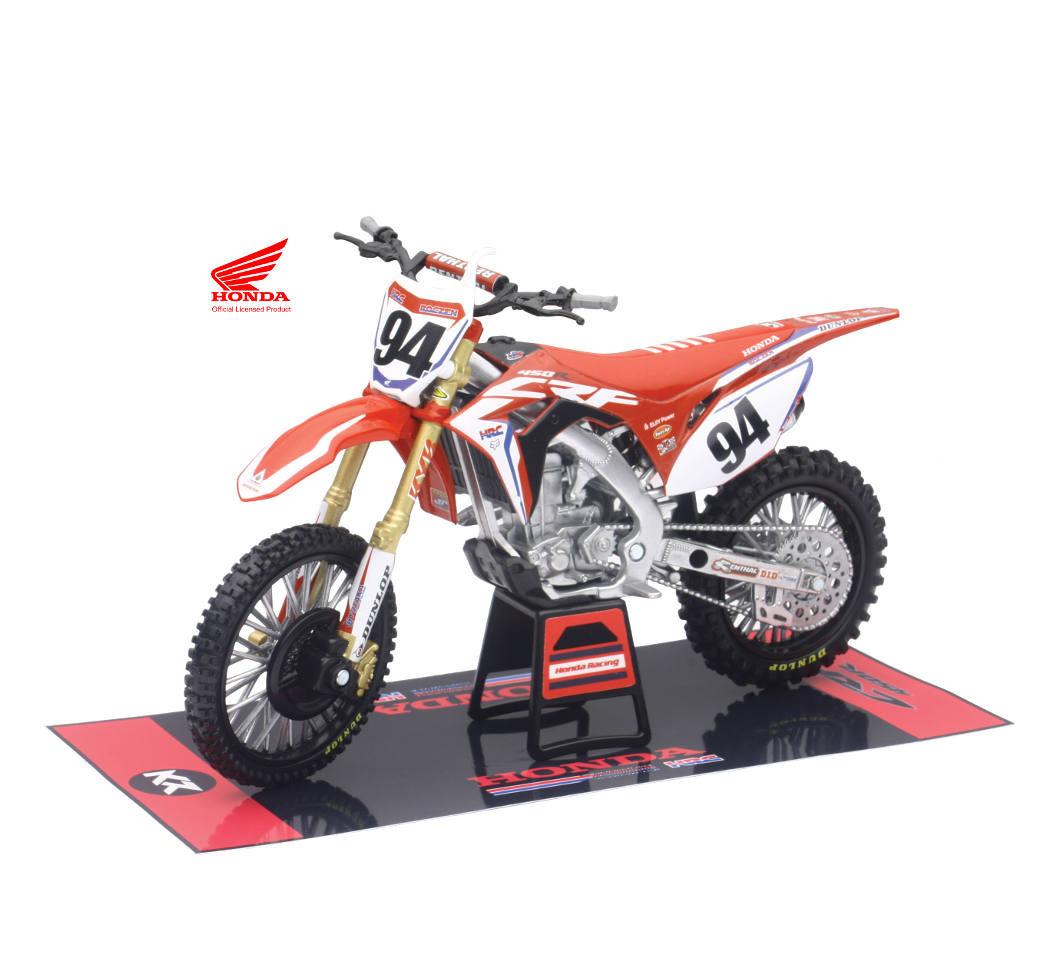 112 Scale Hrc Team Honda Race Bike Ken Roczen Motocross Toy