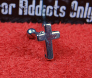 Silver Cross Straight Barbell