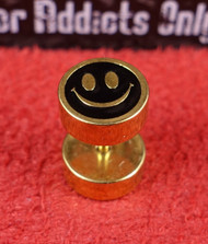 Gold Smiley Face Unplugs