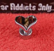 Silver Heart Reversible Unplugs