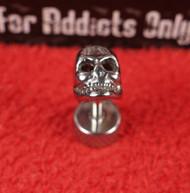 3-D Silver Skull Reversible Unplugs