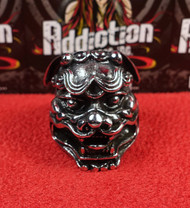 Chinese Lion Stainless Steel Ring
