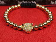 Gold Lynx Bracelet