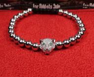 Silver Lynx Bracelet