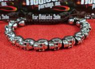 14 Silver Skull Bracelet