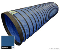 "In Stock 15'/4"" Standard Tunnel - ROYAL BLUE"