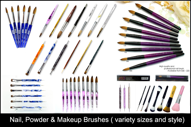 Nail Makeup Powder Brush