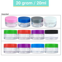 20G/20ML Mixed Plastic Cosmetic Sample Jars