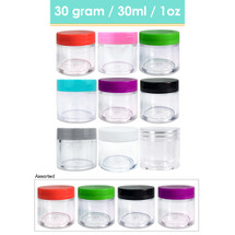 30G/30ML (1 Oz) Plastic Cosmetic Sample Jars