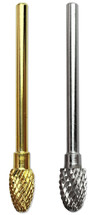 "3/32"" FootBall Shaped Carbide Nail Drill Bit"