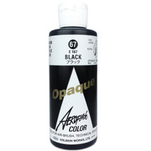 Opaque Black Aeroflash Color by Holbein (100ML)
