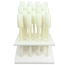 Nail Tip Sticks with Display Stand - (Clear, Natural) & (Tips: 18, 32, 64)