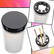 Nail Brush Cleanser Bottle & Holder