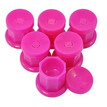 Pink Plastic Dappen Dish