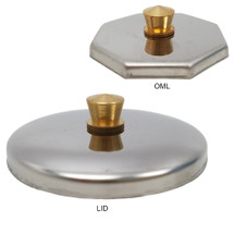 Stainless Steel Metal Lid