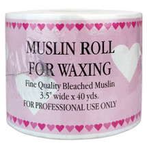 "Muslin Roll for Waxing (3.5"" x 40 Yards)"
