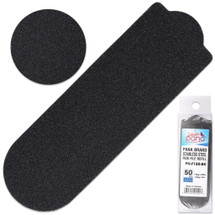 PANA BRAND GRIT: 180 BLACK STAINLESS STEEL PEDI FILE REFILL EZ-STRIP PEEL PEDICURE REFILL PADS