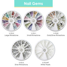 Nail Gems / Rhinestones For Nail Decal