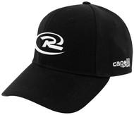 RUSH NATIONAL SOCCER CS II TEAM BASEBALL CAP BLACK WHITE