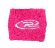RUSH NATIONAL SOCCER 2 PIECE SET WRISTBANDS PINK WHITE
