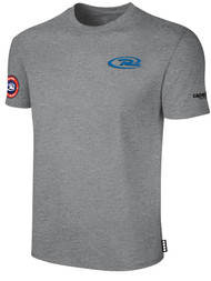 SJEB RUSH SHORT SLEEVE TEE SHIRT  -- LIGHT HEATHER GREY