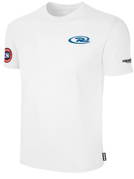 SJEB RUSH SHORT SLEEVE TEE SHIRT -- WHITE