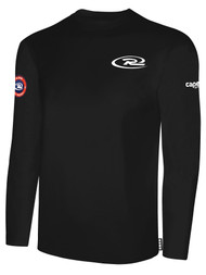 SJEB RUSH  LONG SLEEVE TSHIRT -- BLACK
