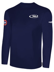 SJEB RUSH  LONG SLEEVE TSHIRT -- NAVY