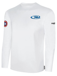 SJEB RUSH  LONG SLEEVE TSHIRT -- WHITE