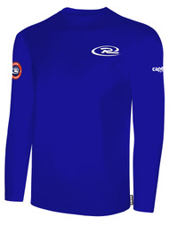 SJEB RUSH  LONG SLEEVE TSHIRT -- ROYAL BLUE