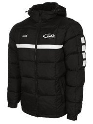 SJEB RUSH  SPARROW WINTER JACKET --BLACK WHITE