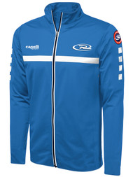 BOYS RUSH SJEB SPARROW  TRAINING FULL ZIP JACKET -- BLUE WHITE  --  AL IS ON BACK ORDER, WILL SHIP BY 7/21