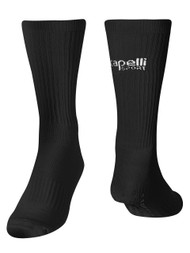ALBION SAN DIEGO  CREW SOCKS WITH GRIPPERS BLACK WHITE
