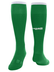 COLTS NECK SC CS ONE MATCH SOCKS --  GREEN WHITE -- MEDIUM IS ON BACKORDER, WILL SHIP BY 3/8/21