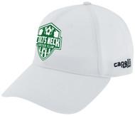 COLTS NECK SC  BASEBALL HAT --WHITE  BLACK