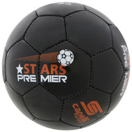 STARS PREMIER SOCCER   BALL SIZES 3-4-5  --  BLACK