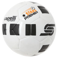 STARS PREMIER 4 CUBE GAME BALL SIZES 3-4-5  -- WHITE BLACK